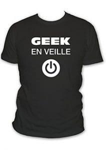tee-shirt gamer