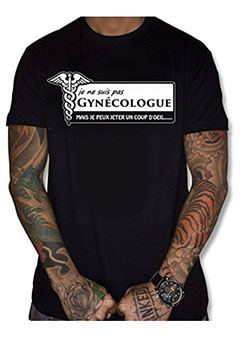 tee-shirt gynecologue