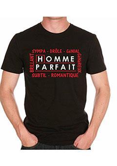 tee-shirt homme parfait