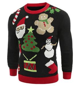 ee4925227c4 Pull moche de Noël  pull Noël homme ou homme. Guide d achat 2019