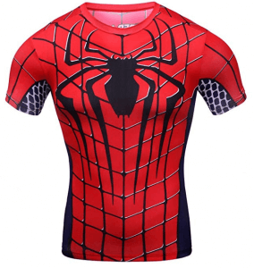 t shirt spiderman