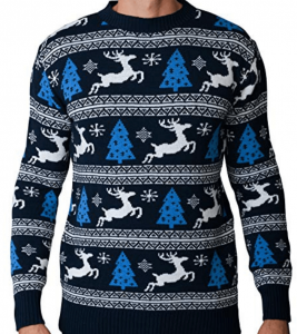 pull homme cerf