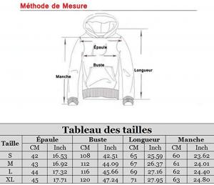 mesure pull chiyeee