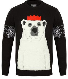 pull de noel avec ours